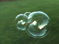 Bubble Images | Fresnel Bubble - Perfect Bubble - Final (Noisy) Bubble