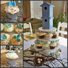 Bird baby shower.