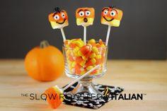 Candy Corn Creeper Pops