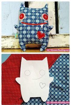 #DIY: Un mostruo divertido para que los peques se rían del miedo :)