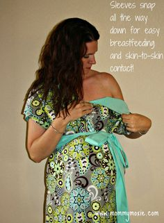 Personal Maternity Hospital Gowns...such a good idea!