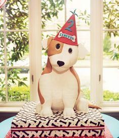 Amazing puppy dog birthday cake!