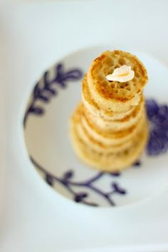 English crumpets..must try these...  http://alwayswithbutter.blogspot.com/2011/02/english-crumpets.html