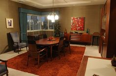 "Don Draper's '60s Inspired ""Mad Men"" Manhattan Apartment"