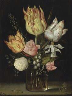 Ambrosius Bosschaert the Elder. Dutch Baroque Era Painter (1573-1621)