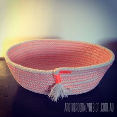 Rope basket by anotherdonkeydesign.com.au