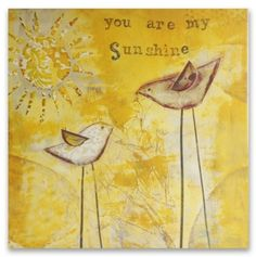 You are my SUNSHINE #quotes #sunshine #yellow #happy #love