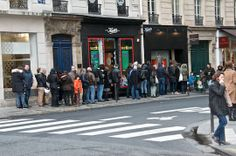 """What Parisians Line Up For - I loved this post on a favorite blog, Olive Oil & Lemons. Dina talks about what she saw local Parisians lining up for on a recent trip to Paris - """"Poilane gets a line up, as do Eric Kaiser bakeries, Pain Sucré in the Marais and Ble Sucré in the 12th."""" olive oils, pari, oliv oil"""