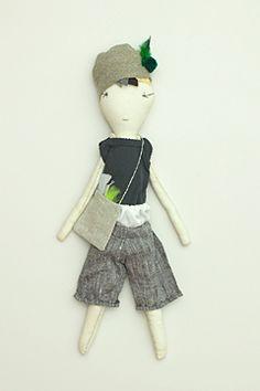 henri jess brown doll