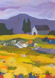 Farmhouse Original Painting