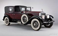 1928 Rolls-Royce Springfield Phantom I Town Car by Hibbard
