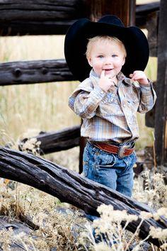 Precious little cowboy :)