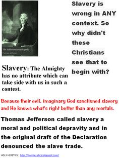 Why is slavery wrong?