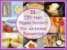 11 DIY Hair Masks Perfect For At-Home Pampering