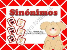 Juego de sinónimos from Mrs. Okraska's Enchanting Resources on TeachersNotebook.com (12 pages)  - Synonyms Game