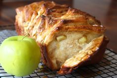 Trying this after apple picking! Caramel Apple Pull-Apart Bread