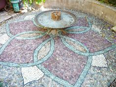 Lotus Medallion Patio in San Francisco