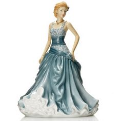 "Royal Doulton® Pretty Ladies: Angela 9"" Bone China Figurine"