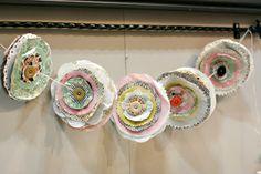 crafty handmade flowers
