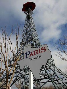 Paris, Texas    Repinned #Rx4Nails Made in Texas, USA