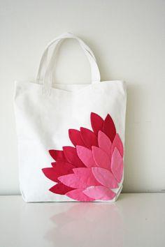 DIY: petal bag
