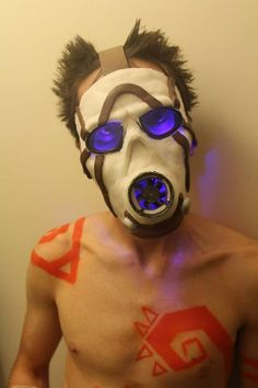 Borderlands Psycho Mask Tutorial #cosplay #costume #video_game #gaming