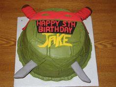 ninja turtle cakes | Teenage Mutant Ninja Turtle Cake