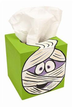 Mummy Tissue Box