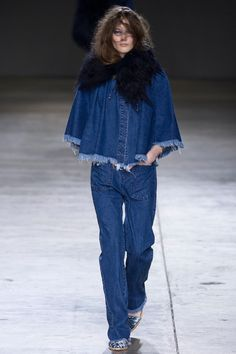 jean, fashion weeks, runway fashion, marquesalmeida, marqu almeida, denim, fall 2014, london fashion, 2014 readytowear