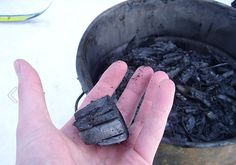 Home made biochar. Photo by K.salo - why you should definitely use this in your soil, and a how to make it