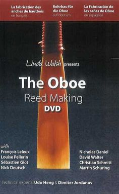 """""""Complete instructions for European style reeds: Basic tools, tying on, scraping ; Gouging machines and shaping tools ; Tips from top international soloists ; Cor Anglais reeds, with Brian Nolf, Belgian National Orchestra ; Knife sharpening ; Easy to follow step by step instructions."""" DVD 526"""