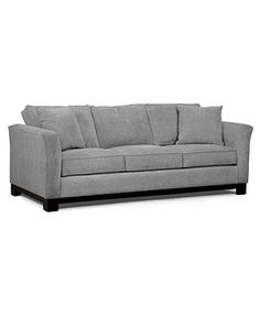 Kenton Fabric Sofa Bed, Queen Sleeper 88W X 38D X 33H: Custom Colors - Couches & Sofas - Furniture - Macy's
