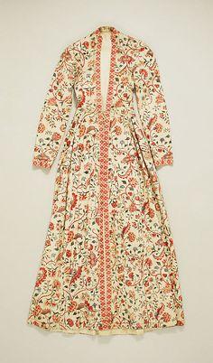 Dutch dress,18th-19th century, from   Hindeloopen, Netherlands via Metropolitan Museum of Art