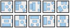 10 Ways to arrange f