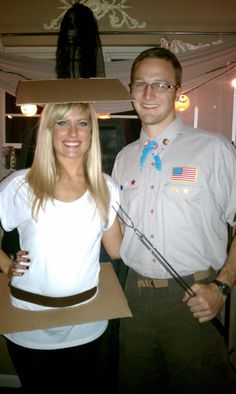 Couples Halloween Costume -Boy Scout and a Smore