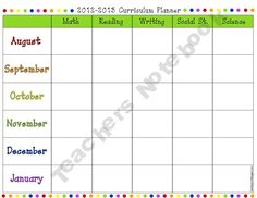B.Y.O.B: BUILD YOUR OWN BINDER Teaching Planning Pages