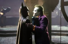Batman (1989) - Jack Nicholson & Michael Keaton