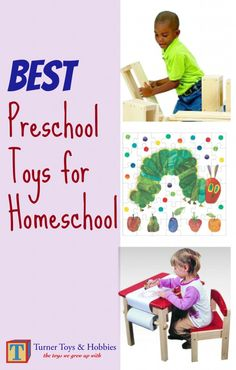 The Best Preschool Toys for Homeschoolers |Turner Toys & Hobbies #homeschool #toys #preschool