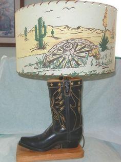 1950's Roy Rogers lamp