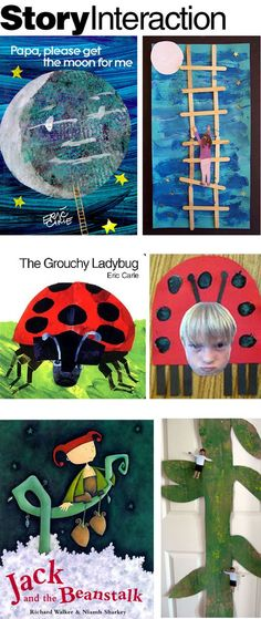 "Art ""crafts"" inspired by children's literature"
