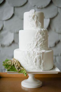 Feather cake #ido #inspiration #wedding #dessert