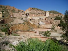 The abandoned gold mines of Rodalquilar, Spain