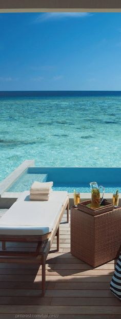 ☼ Life by the sea - blue ocean vacation Four Seasons Resort...Maldives