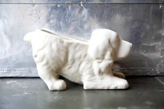 Vintage Dog Planter / ReneeVintage