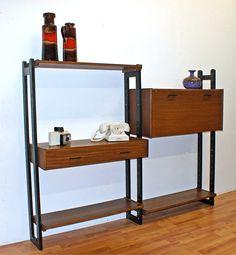 wall unit/desk.