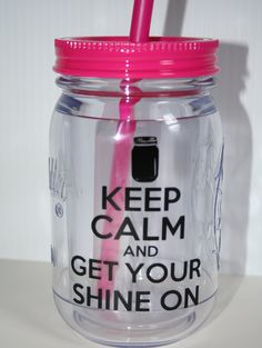 mason tumbler, florida georgia line, cups, crafti, mason jar crafts, country monogram, keep calm, mason jars, countri girl