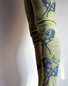 Luna moth leggings. My next tattoo is supposed to be a luna moth. I have a mild fascination.