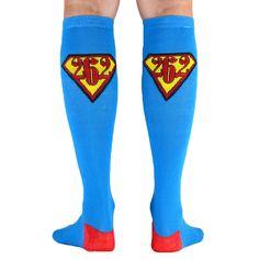 Yakety Yak! Knee Socks - 26.2 Super Runner (Teal/Red) | Running Knee Socks