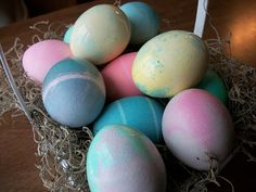 Rock Easter Eggs - super easy Easter Egg Project