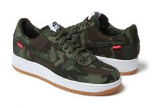 Supreme x Nike 2012 Air Force 1 – A Closer Look | Hypebeast